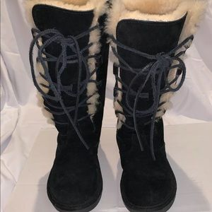 11e1930784d Women Ugg Tall Lace Up Boots on Poshmark